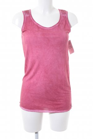 One green elephant Tanktop magenta Casual-Look