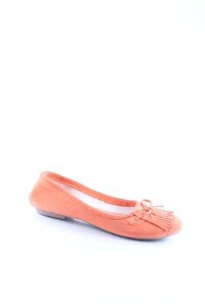 One of a kind Ballerinas orange Casual-Look