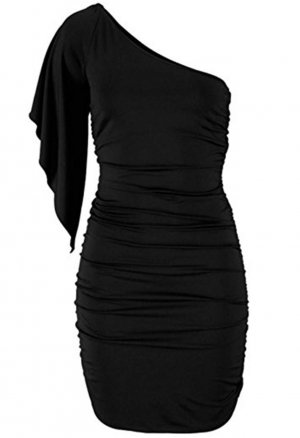 *  One-Schoulder  Cocktail  Kleid  *  Gr. L-XL *  NEU  *