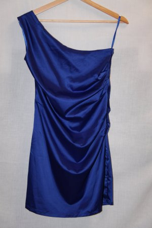One-Schoulder-Kleid mit Raffungen