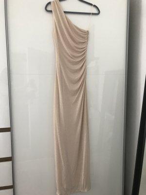 One-Shoulder Abendkleid mit Glitzer