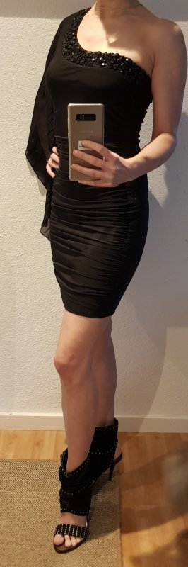 one shoulder Cocktailkleid Jane Norman