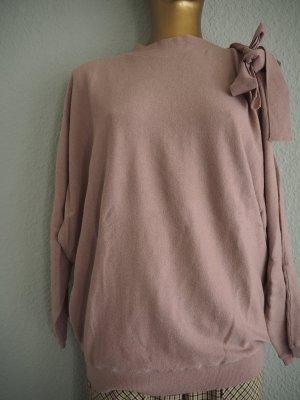 One-Shoulder - Cutout-Pullover altrosé Business-Look