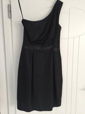 Stefanel One Shoulder Dress black