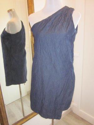 One Shoulder Jeans Kleid #Mango Dunkelblau Gr S
