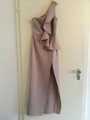 Asos Robe asymétrique or rose
