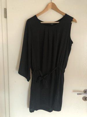 mbyM Vestido de un hombro negro