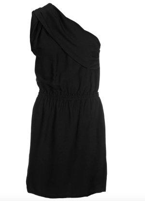 by Zoé One Shoulder Dress black