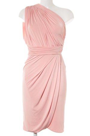 One-Shoulder-Kleid apricot Romantik-Look