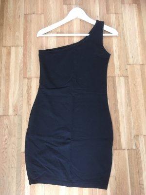 One Shoulder Dress black