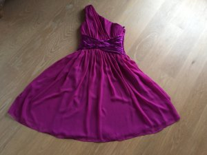 One Shoulder Dress violet-lilac