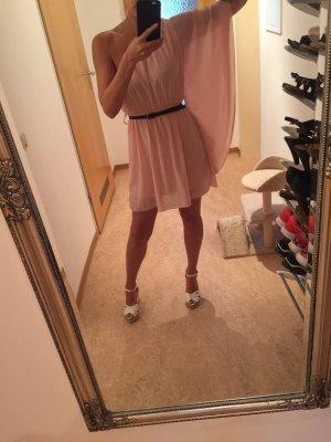 One Shoulder Dress light pink