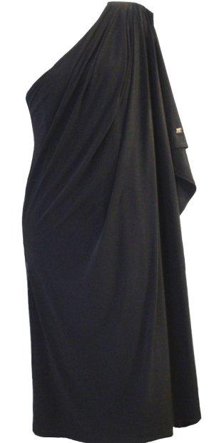 *  One Shoulder Kleid  *  Gr. L-XL *  Oversize Midi-Kleid  *