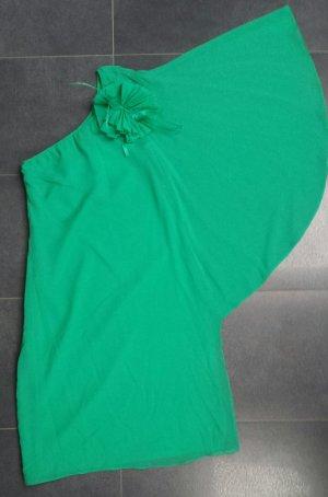 One-Shoulder Kleid Grün Hallhuber