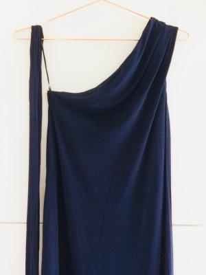 One Shoulder Kleid mit Bindegürtel