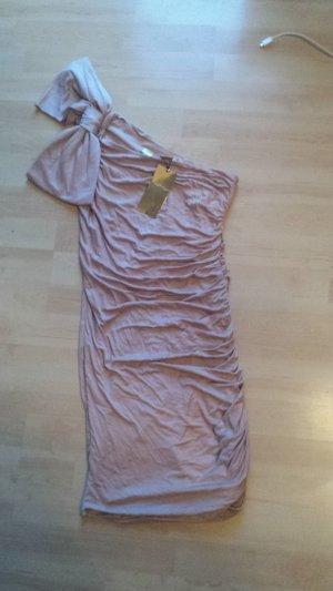 H&M Mini Dress nude mixture fibre
