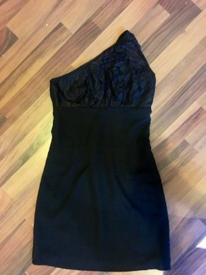 Vero Moda One Shoulder Dress black