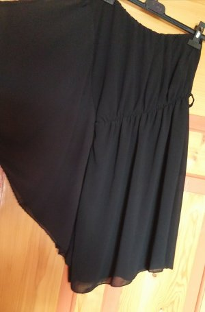 One-Shoulder-Kleid Schwarz