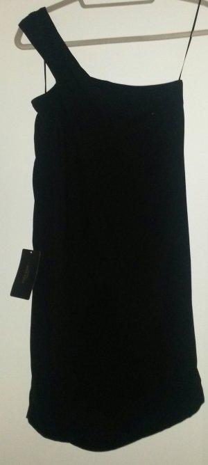 One Shoulder Kleid Schwarz