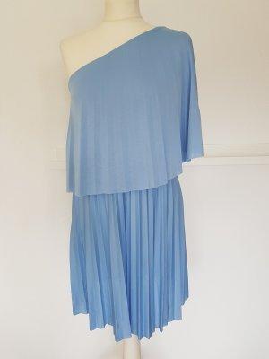 Asos Off-The-Shoulder Dress azure polyester