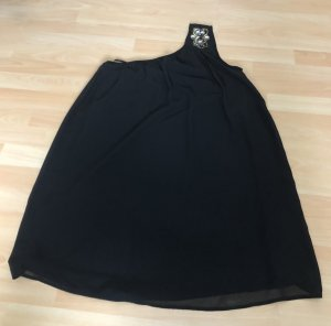 Vero Moda One Shoulder Dress black polyester