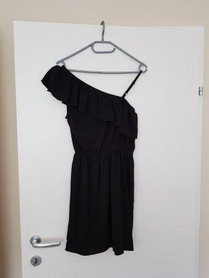 Amisu Vestido de un hombro negro