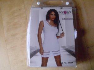 One Shoulder Minikleid / Kleid in weiß Größe 36 von Saresia