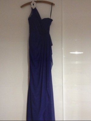 One shoulder navy-blaues Abendkleid/ Cocktailkleid