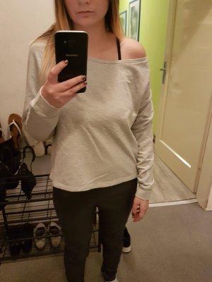 One-Shoulder Sweatshirt Größe S