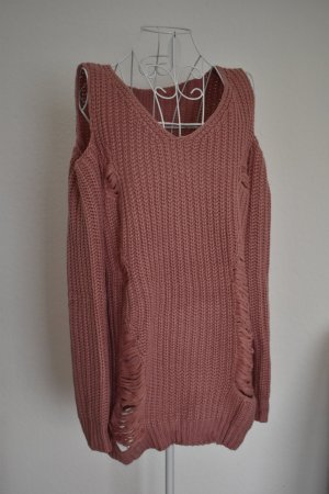 One Size Pullover in Rosa