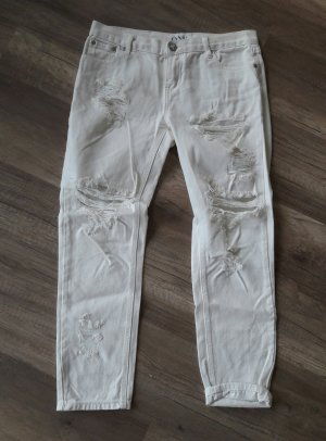 One Teaspoon Boyfriend Loose Fit Jeans Destroyed Ripped off 27