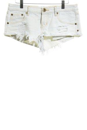 One teaspoon Pantalón corto beige claro estilo relajado
