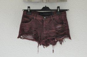 ONE TEASPOON Minirock, Jeans Rock, Asos, Festival, Hipster, Used Look, zerrissen
