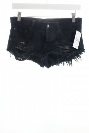 One teaspoon Shorts dunkelblau Urban-Look