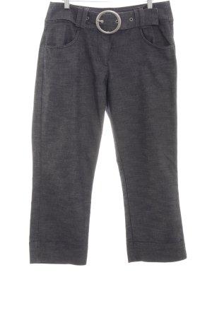 One Touch Pantalon 7/8 gris clair imprimé allover style décontracté