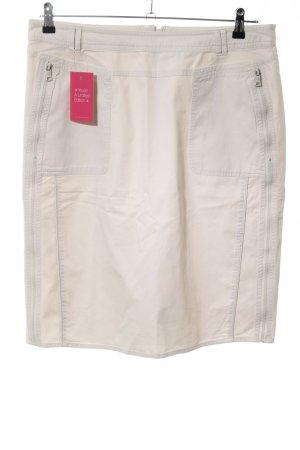 One Touch Jupe cargo blanc cassé style d'affaires