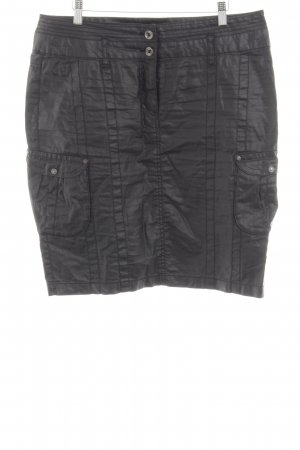 One Touch Cargo Skirt black casual look