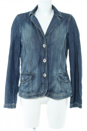One Touch Jeansjacke blau Casual-Look