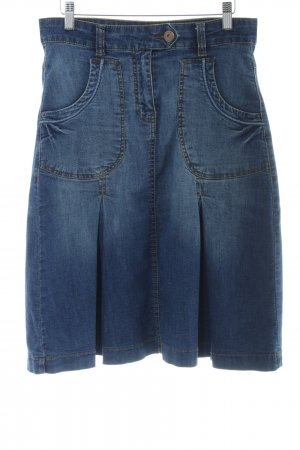 One Touch Jeansrock blau Casual-Look