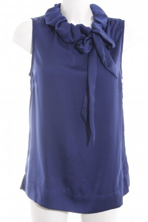 One Touch Schlupf-Bluse blau Casual-Look