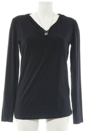 One Touch Sweatshirt schwarz Casual-Look