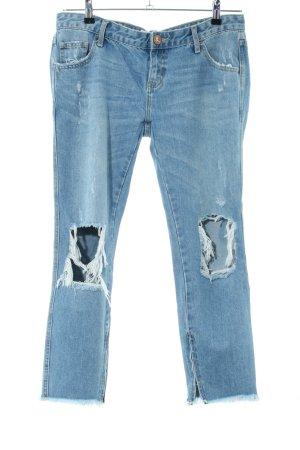 One x Oneteaspoon Boyfriend jeans blauw casual uitstraling