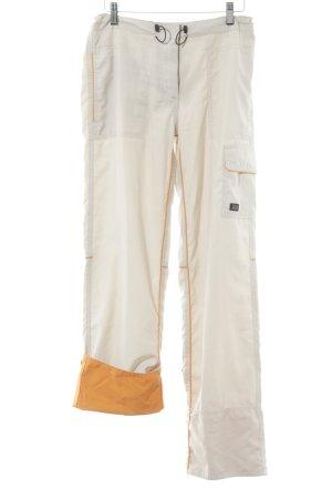 ONEILL Cargohose creme-orange sportlicher Stil