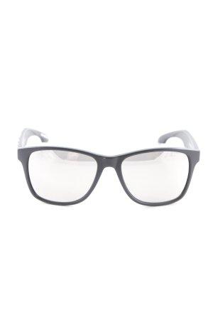 ONEILL eckige Sonnenbrille schwarz-silberfarben Metallic-Optik