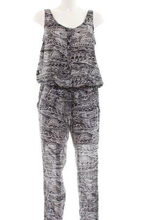 ONEILL Jumpsuit schwarz abstraktes Muster Casual-Look
