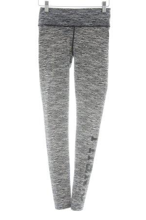 ONEILL Leggings negro-blanco estampado temático estilo deportivo