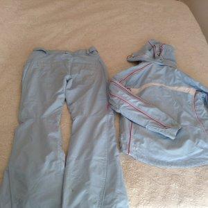 Pantalon lichtblauw kunststof