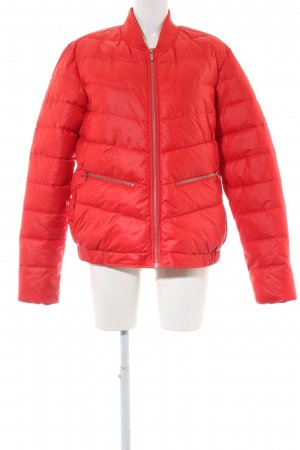 ONEILL Quilted Jacket red quilting pattern casual look