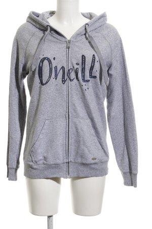 ONEILL Sweatjacke grau Casual-Look