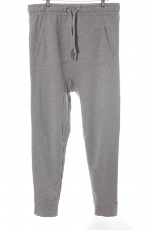 Onepiece Baggy Pants light grey flecked athletic style